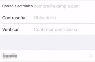 Cómo crear un correo en iCloud desde la App Store en iPhone, iPad o iPod Touch paso 3