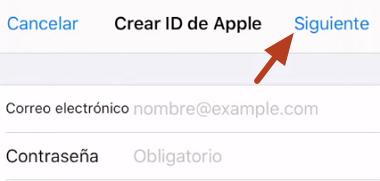 Cómo crear un correo en iCloud desde la App Store en iPhone, iPad o iPod Touch paso 5