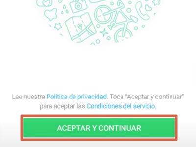 Cómo crear una cuenta de WhatsApp Messenger paso 1