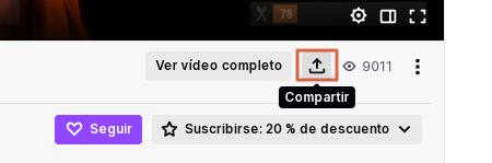 Cómo descargar clips de Twitch utilizando Clipr Paso 4