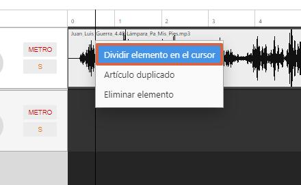 Cómo editar un audio de forma online utilizando Hya-Wave paso 3