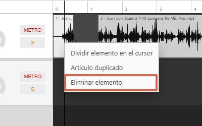 Cómo editar un audio de forma online utilizando Hya-Wave paso 4