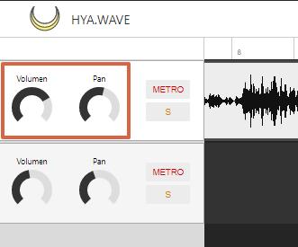 Cómo editar un audio de forma online utilizando Hya-Wave paso 6