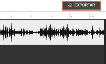 Cómo editar un audio de forma online utilizando Hya-Wave paso 7