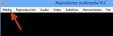 Cómo extraer audio de videos con VLC en Windows paso 2