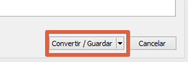 Cómo extraer audio de videos con VLC en Windows paso 5