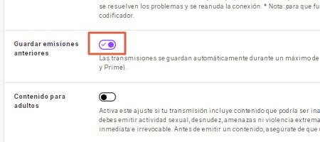Cómo guardar transmisiones automáticamente de Twitch Paso 4