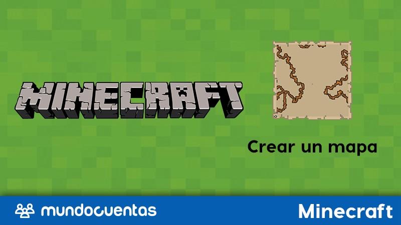 Cómo hacer o crear un mapa en Minecraft