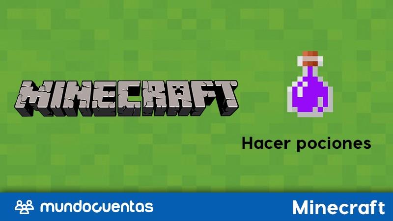 Cómo hacer todas las pociones en Minecraft (alquimia).