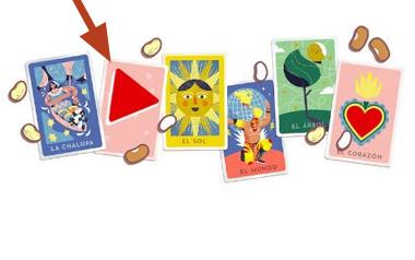 Cómo jugar lotería en Google Doodle en tu navegador desde el celular paso 4