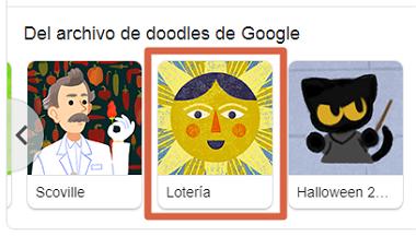 Cómo jugar lotería en Google Doodle en tu navegador desde la PC paso 3