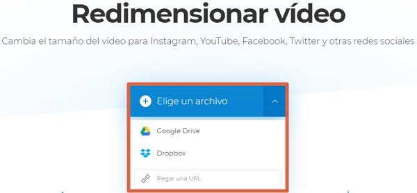 Cómo mejorar la calidad de un video pixelado o borroso gratis online con Clideo paso 2