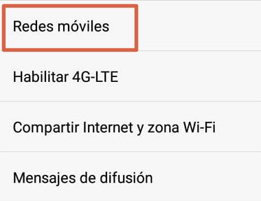 Cómo tener Internet gratis en Android creando una nueva APN paso 3
