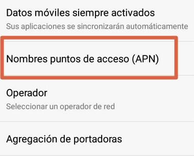 Cómo tener Internet gratis en Android creando una nueva APN paso 4