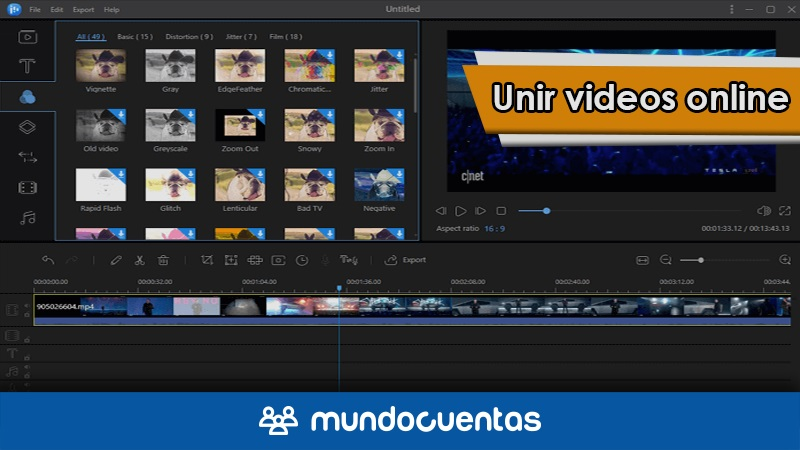 Cómo unir videos online las mejores herramientas gratis