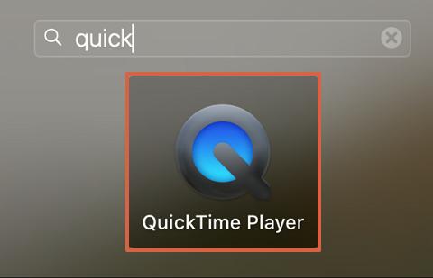 Cómo usar QuickTime Player para grabar la pantalla del ordenador Mac paso 1