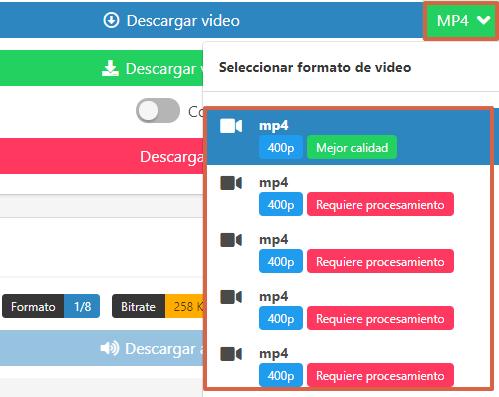 Cómo utilizar Savethevideo.com para descargar un video de Vimeo paso 4