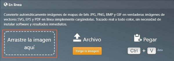 Cómo vectorizar imágenes online utilizando Vector Magic Paso 2
