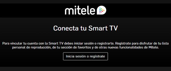 Cómo ver y activar Mitele.es a la carta en el Smart TV para ver la programación completa Paso 3