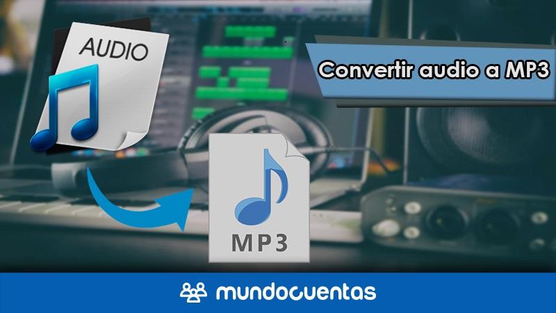 Convertidor de audio a MP3 online gratis herramientas para convertir de WAV WMA M4A a MP3