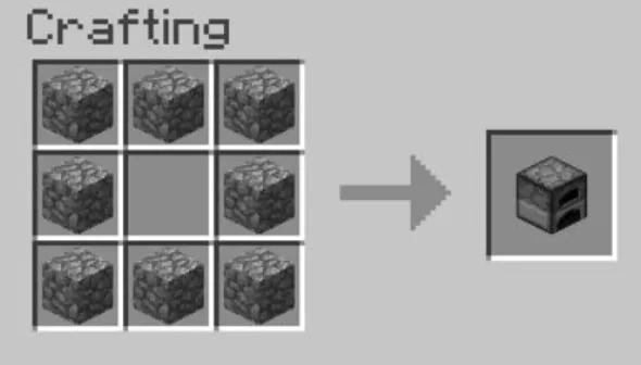 Crear horno de crafteo