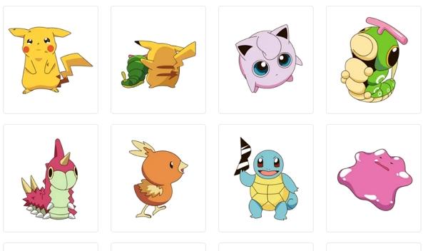 Stickers de Pokémon