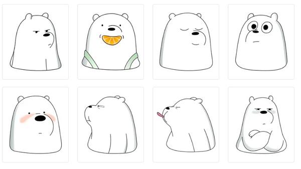 Stickers de animales