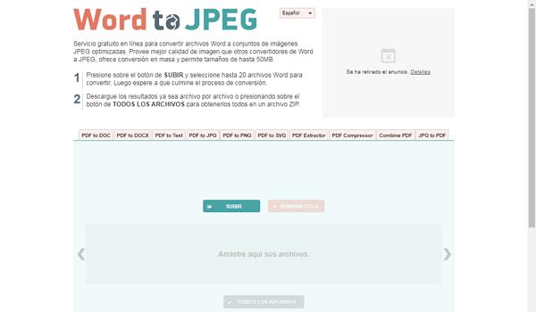Word to JPEG