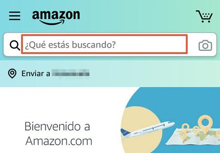 Cómo comprar en Amazon desde la app paso 4
