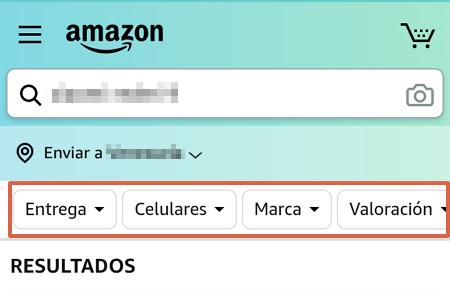 Cómo comprar en Amazon desde la app paso 5