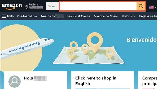 Cómo comprar en Amazon desde la página web paso 4