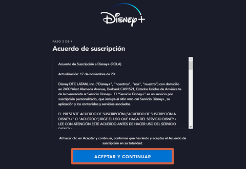 Cómo conseguir o ver el contenido de Disney Plus gratis paso 4
