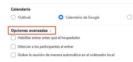 Cómo crear o programar reuniones en Zoom Desde la app Paso 5.