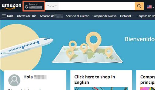 Cómo crear una cuenta en Amazon paso 4