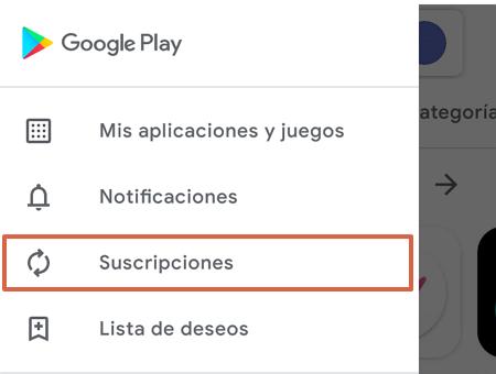 Cómo dar de baja o cancelar la suscripción a Disney Plus desde la Tienda de Google Play paso 3