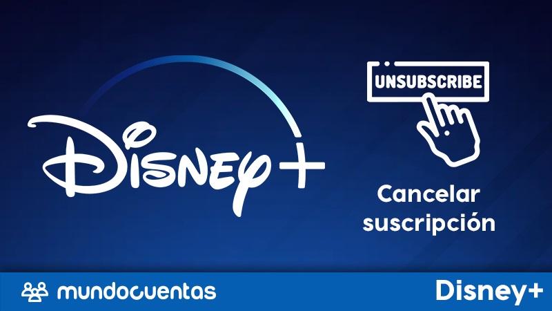 Cómo dar de baja o cancelar la suscripción a Disney Plus