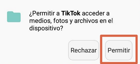 Cómo descargar videos de TikTok al celular desde la misma aplicación paso 5