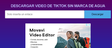 Cómo descargar videos de TikTok desde el ordenador usando SSSTik paso 5
