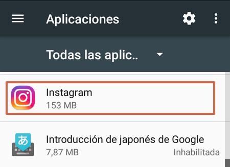 Cómo desinstalar Instagram en dispositivos Android paso 3