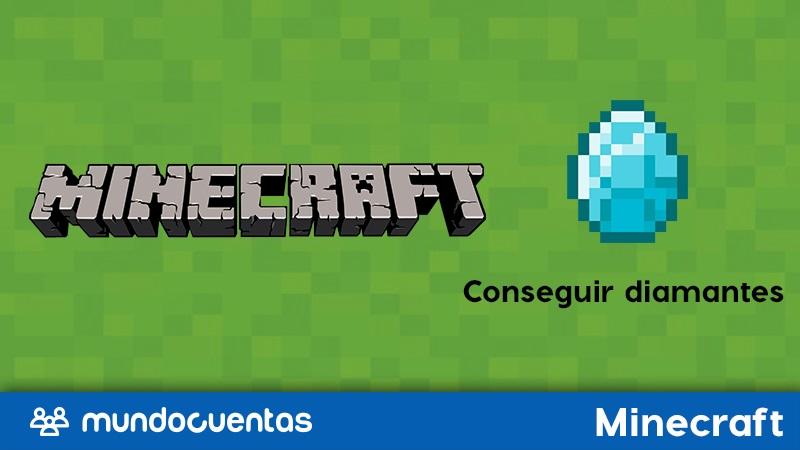 Diamante en Minecraft cómo conseguirlo y qué cosas puedes hacer con él