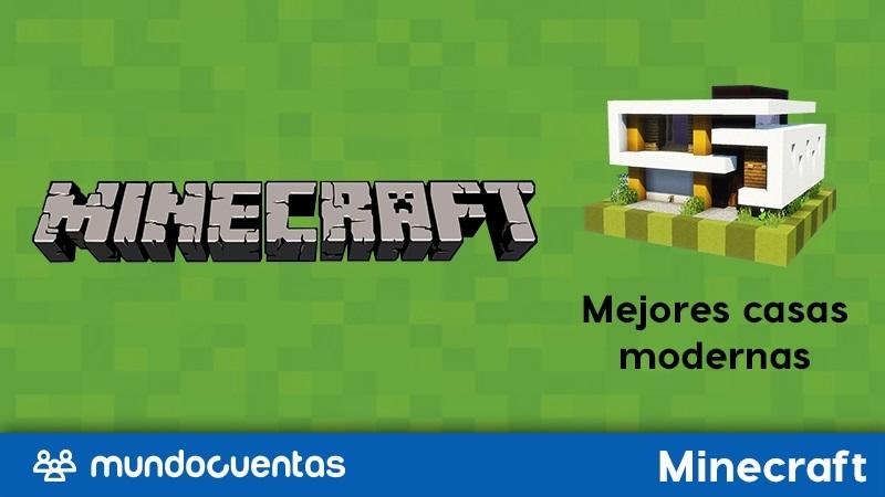 Las mejores casas modernas en Minecraft.