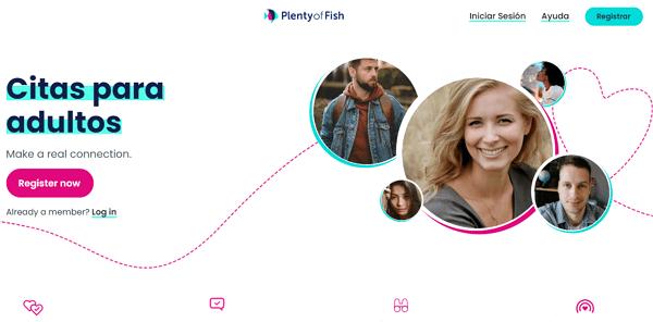Utilizar la página web POF Plenty of Fish para conocer chicas