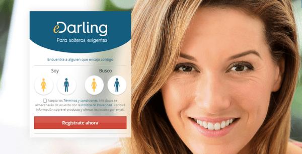 Utilizar la página web eDarling para conocer chicas