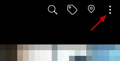 Borrar fotos de Facebook desde el móvil en la App oficial paso 1