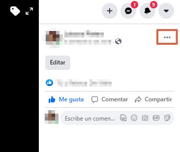 Borrar fotos de Facebook desde la versión Web paso 3