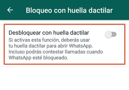 Cómo bloquear WhatsApp desde un Android a través de la aplicación paso 6