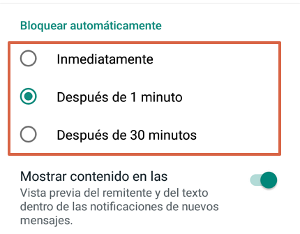 Cómo bloquear WhatsApp desde un Android a través de la aplicación paso 8