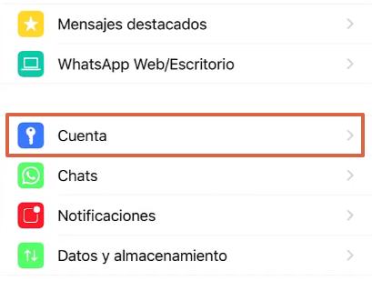 Cómo bloquear WhatsApp desde un iPhone a través de la aplicación paso 2