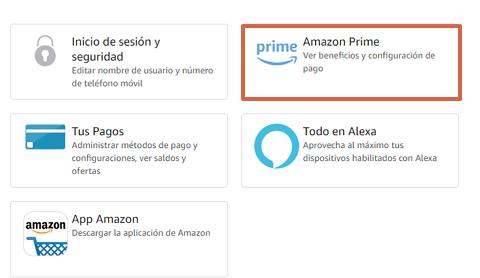 Cómo cancelar la suscripción de Amazon Prime y darte de baja desde la computadora paso 4