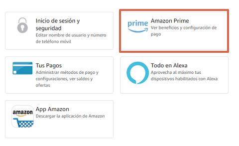 Cómo cancelar tu suscripción a Amazon Prime paso 4